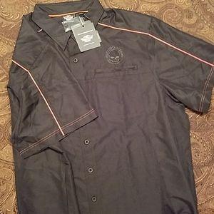 Harley Davidson Button-up Shirt